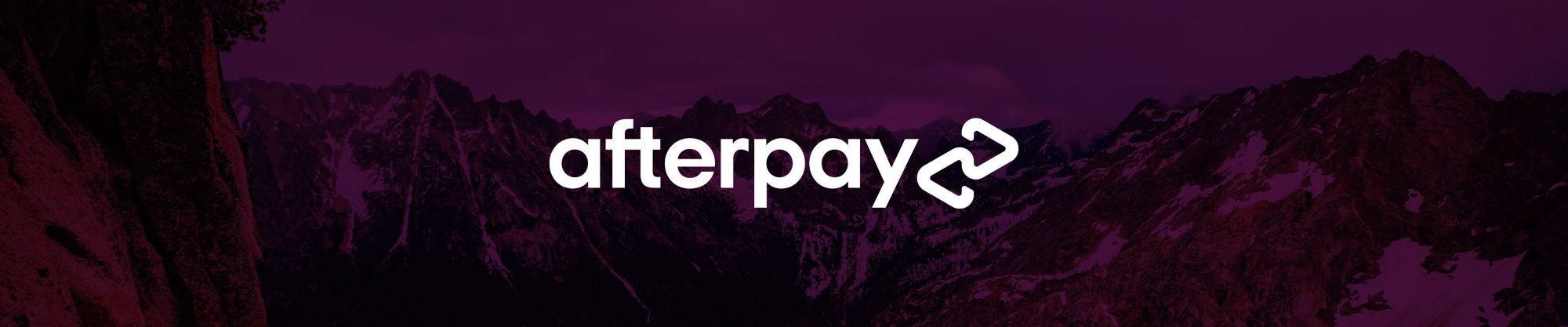 after pay logo slim banner