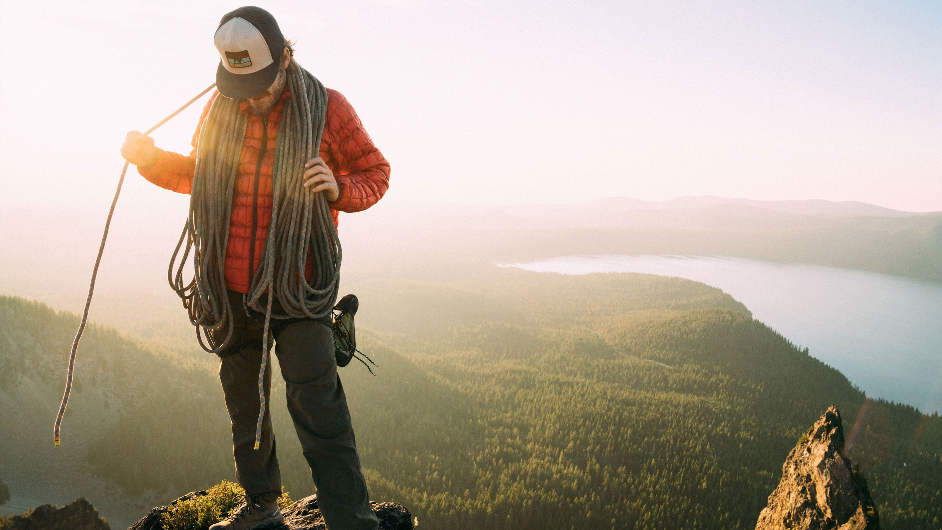 assorted outdoor apparel for extreme conditions day & night